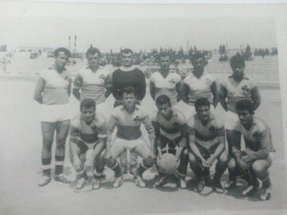 1963: Η ομάδα του Κηρέα στο δημοτικό στάδιο Χαλκίδας