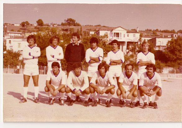 1984: Η Αναγέννηση Μαντουδίου την περίοδο που κατάφερε ν' ανέβει στη Δ' Εθνική