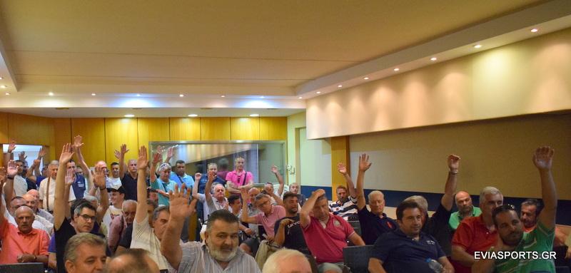 Ο Αντώνης Βουρδάνος από την Μακρυκάπα νέος Πρόεδρος του ΑΟ Χαλκίς  CE 91 CE 9F  CE A7 CE B1 CE BB CE BA CE AF CE B4 CE B1 CF 82 1 7 2019 332