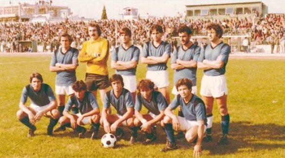 ΑΟ Χαλκίς 1980-81: Από αριστερά, πάνω: Καλαβρής, Τσιλιώνης, Καρατζάς, Ταυταρίδης, Παναγιωτίδης, Χατζηστάμου, κάτω: Γιαννιώδης, Δανέλης, Σταμέλος, Λάμπρου, Σταματίου.