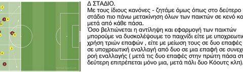 Δ ΣΤΑΔΙΟ: ΧΡΟΝΟΣ 15 ΛΕΠΤΑ (3Χ5)